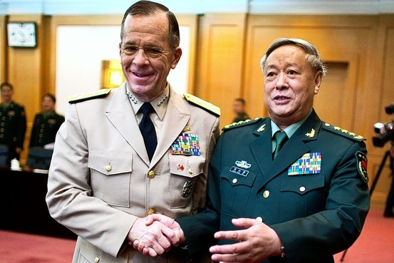 General Chen Bingde and Admiral Mike Mullen