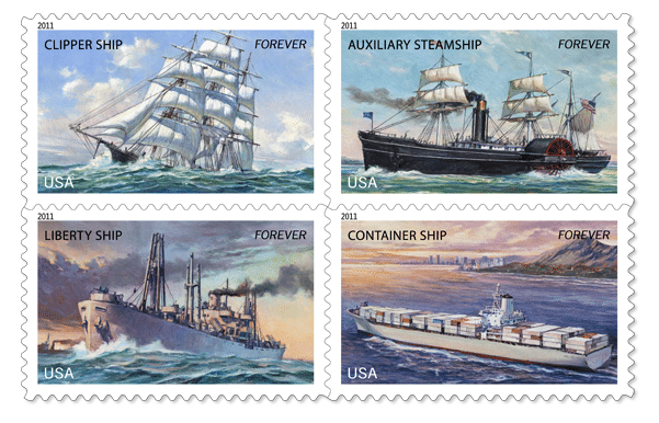 Merchant Marine Stamps