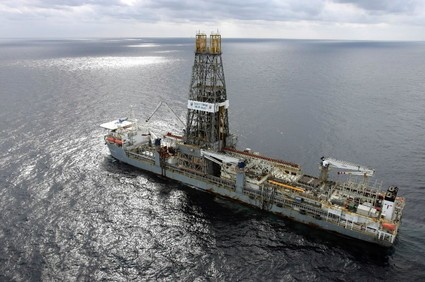 Discoverer Deep Seas Transocean offshore drilling gulf of mexico