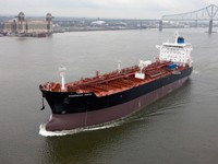 In April, Aker Philadelphia completed a 12 ship program for American Shipping Company, delivering the 12th and final product tanker Overseas Tampa (pictured)