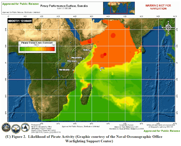 Forecast for 6–12 OCT 2011 via Maritime OPINTEL Report