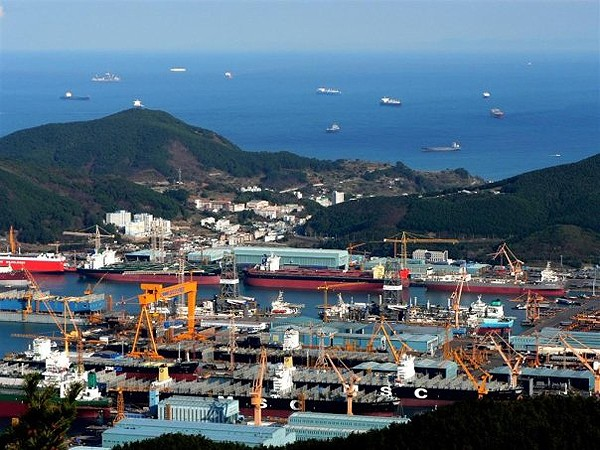 DSME Okpo Korea Daewoo shipbuilding