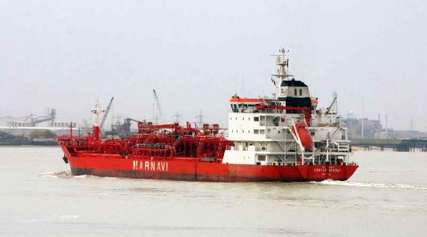 Enrico Levoli italian tanker hijacked pirates oman