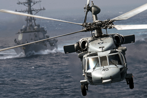 SH-60B Seahawk DDG destroyer us navy