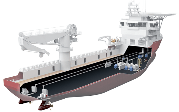 abb ship electrical power distribution onboard dcgrid