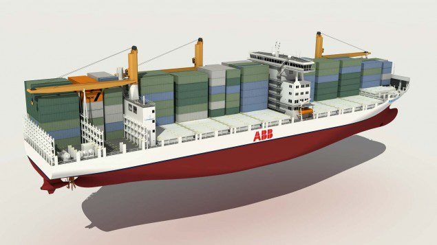 Novel 2000 TEU Container Feeder Vessel
