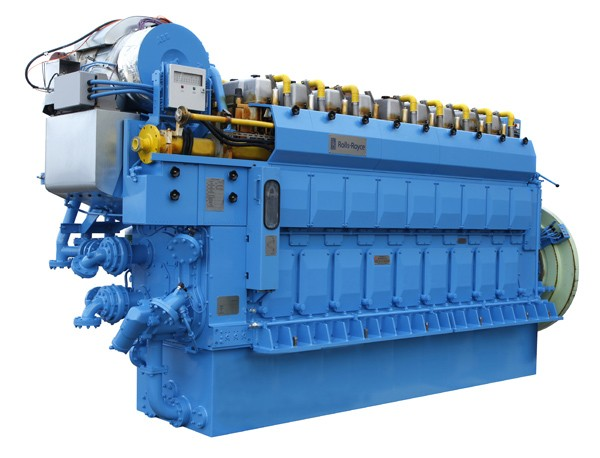 C Gas marine engine rolls royce LNG
