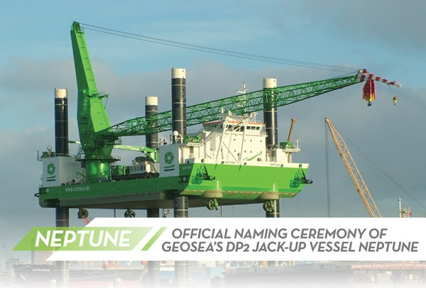 neptune wind farm installation vessel jackup