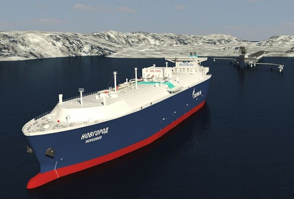 stx offshore lng carrier sovcomflot gazprom