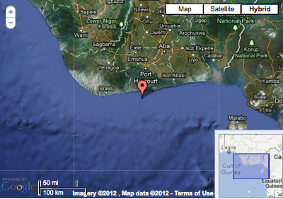 The vessel was reportedly attacked in position 04:12N - 006:56E, 3nm from Fairway Buoy Port Harcourt,