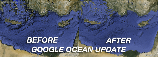 Google Ocean Update