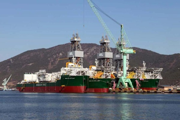 ocean rig drillship