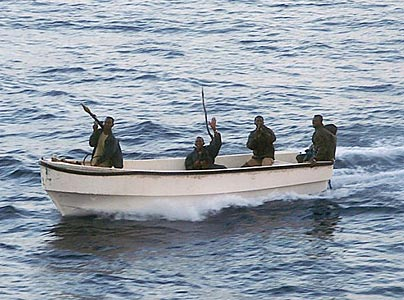 Pictured: Somali Pirates