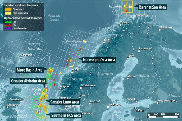 Lundin norway exploration and production NCS norwegian