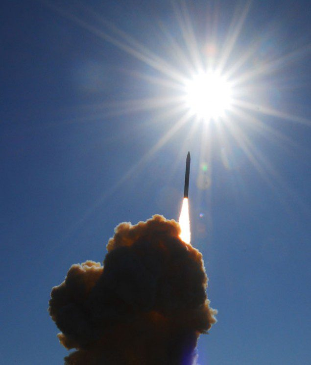 Launch Of A Communications Satellite At Vandenberg AFB