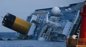 The Costa Concordia pictured on Jan. 14. Photo: Wikimedia Commons