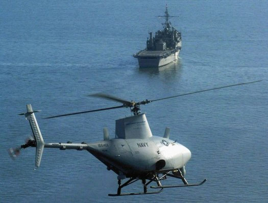 Autonomous Fire Scout UAV. Photo: U.S. Navy
