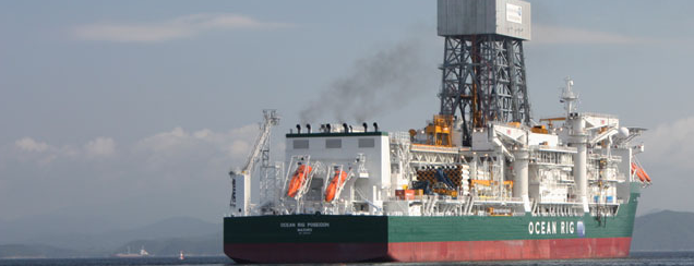 Ocean Rig Drillship Poseidon