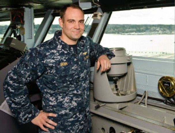 Navy's Top Ship Handler Lt. Zachary Brown