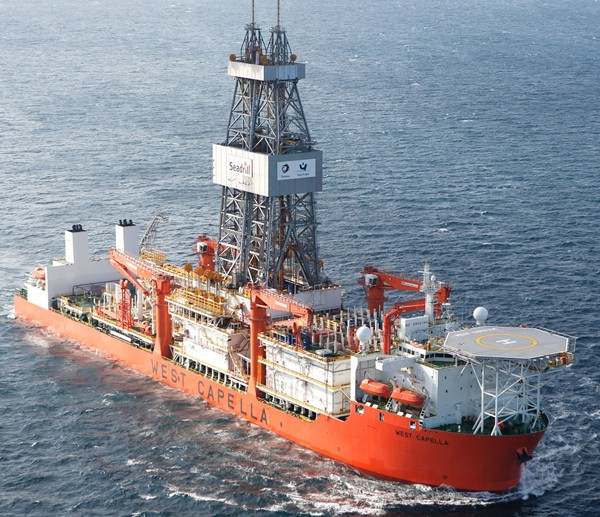 seadrill west capella