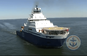 In March, Shell took delivery of the M/V Aiviq, a 360-foot ice class anchor handler built by Edison Chouest Offshore.  The vessel will support Shell&#039;s Arctic exploration program and is being touted as one of the most technically advanced polar-class vessels in the world.