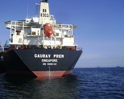 M/V Gaurav Prem. Photo (c) Mercator Limited