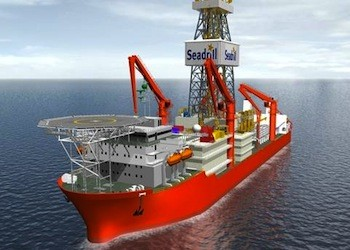 Seadrill has a total of 6 drillships on order with Samsung Heavy set to be delivered in 2013 and 2014.