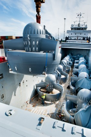 allseas thruster delivery pieter schelte