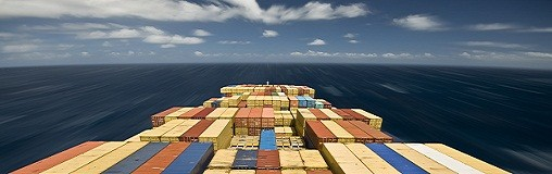 Container+ship high speed voyage