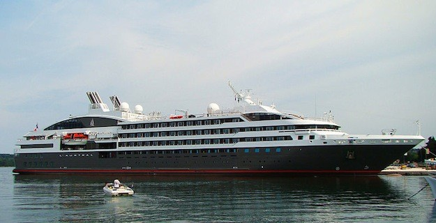 Compagnie du Ponant's L'Austral is the second and latest ship delivered to the company as part of the new Le Boréal class, featuring 132 cabins and suites allowing for up to 264 passengers and 140 crew.