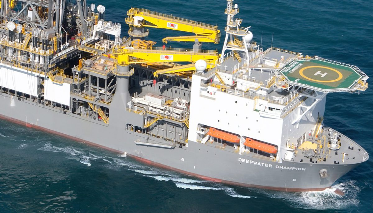 Deepwater Champion Transocean seatrial drillship