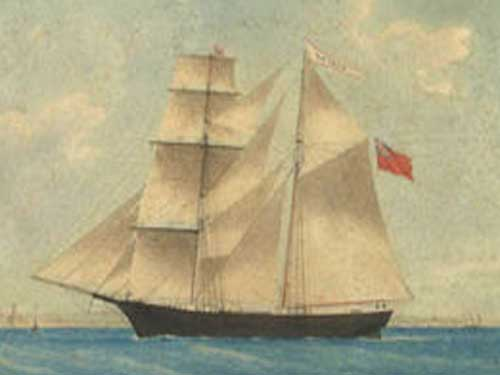 painting of the mary celeste