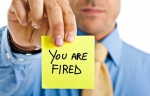 you are fired job