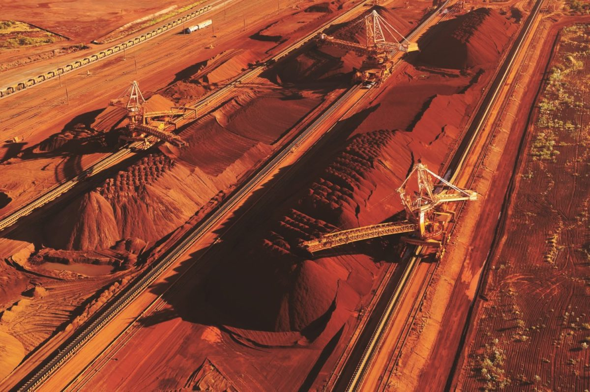 iron ore port hedland bhp billiton