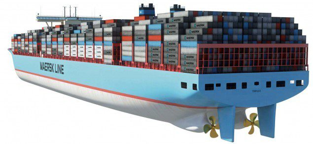 maersk triple-e