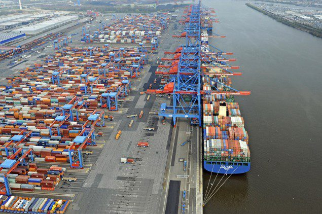 HHLA port of hamburg container terminal shipping