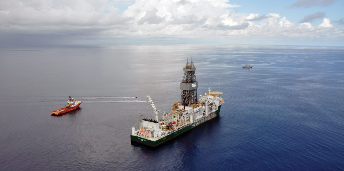 ocean rig poseidon tanzania offshore drilling drillship deepwater