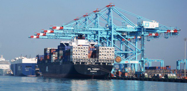 bahrain apm terminals container ship