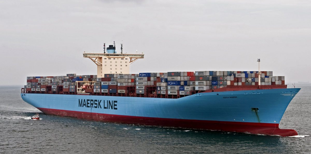 maersk container ship