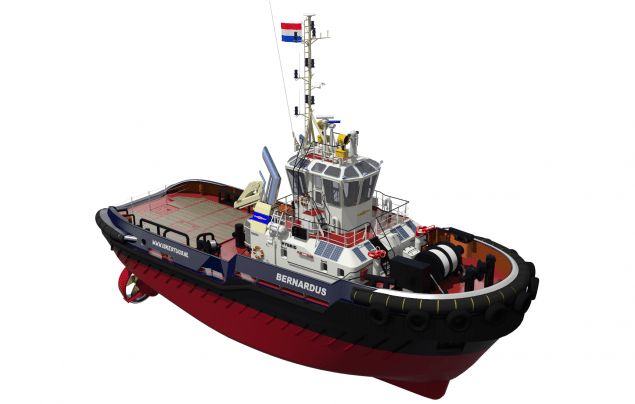 damen ASD tug 2810 hybrid iskes salvage