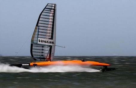World fastest Sailing boat