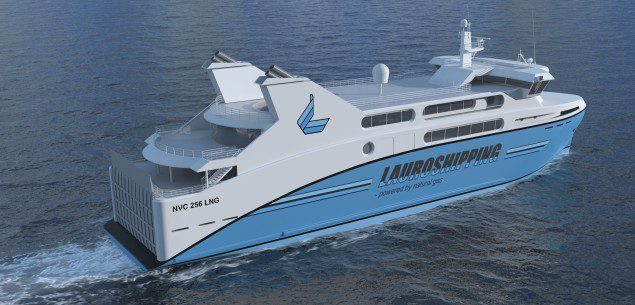 lauro shipping lng ferry rolls royce