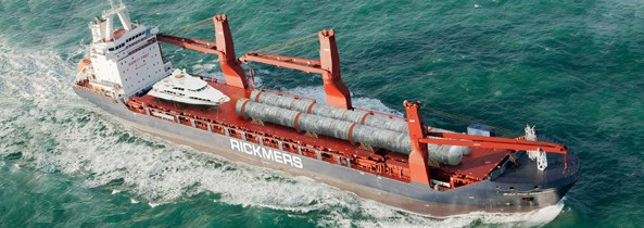 baltic winter break bulk ship rickmers linie