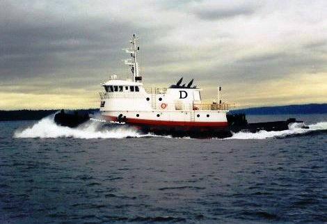 The Phyllis Dunlap is owned and operated by Dunlap Towing of Washington. Image: Dunlap Towing