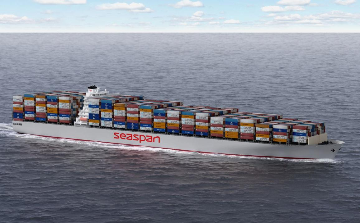 Seaspan 10,000 teu design