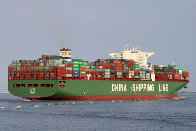 china shipping container lines cscl venus