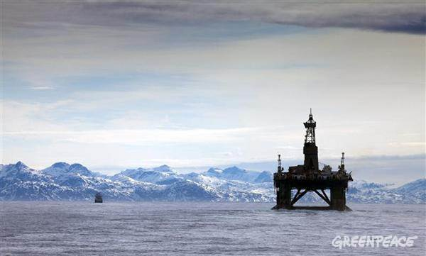 greenpeace arctic drilling