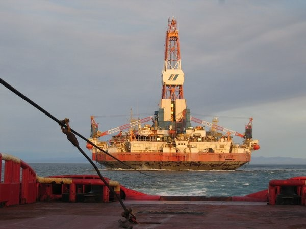 kulluk shell arctic drilling rig