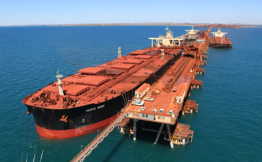 rio tinto capesize iron ore bulk carrier cape lambert