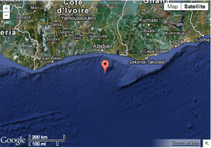 03.02.2013: 0659 LT: 04:07.38N – 003:54.42W, 70nm South of Abidjan port, Ivory Coast.Owners off an oil tanker reported that they had lost contact with their vessel while underway and suspect the vessel may have been hijacked. Further details awaited. Via IMB Piracy Reporting Centre